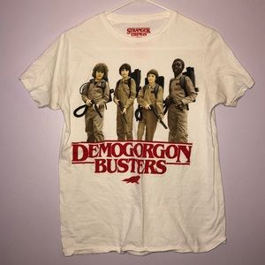 "Stranger Things ""Demogorgon Busters"" Tee Shirt"